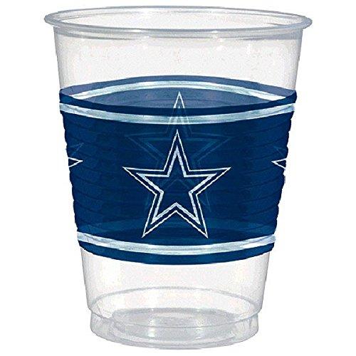 Amscan Dallas Cowboys Plastic Cup, 16 oz.