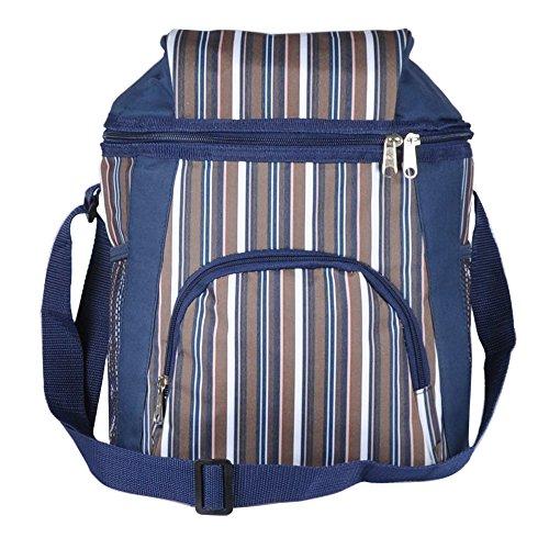 luyada-16-can-picnic-lunch-bag-cooler-bag-brown-black-stripe