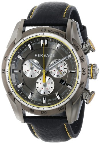 Versace-Mens-VDB020014-V-Ray-Stainless-Steel-Watch-with-Black-Genuine-Leather-Band