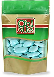 Baby Blue Jordan Almonds 5 Pound Bag - Oh! Nuts