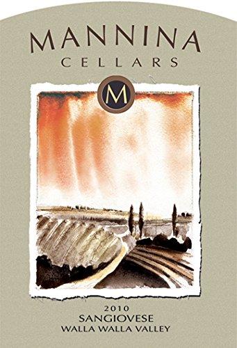 2010 Mannina Cellars Sangiovese Seven Hills Vineyard 750 Ml