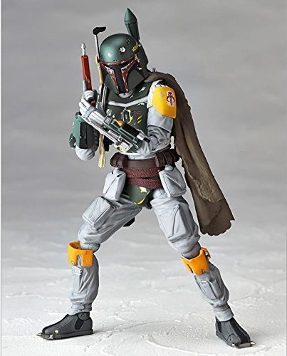 Star Wars REVO 005 Boba Fett PVC Action Figure Collectible Model Toy 16cm KT1283
