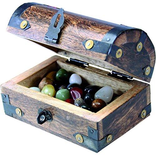 bestsaller-11-x-7-x-9-cm-treasure-chest-box-with-150-gm-semiprecious-stones-multi-colour