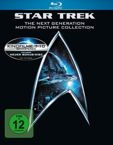 Star Trek - Movies 7-10 (Next Generation/Motion Picture Collection) [Blu-ray]