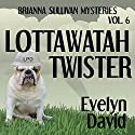 Lottawatah Twister: Brianna Sullivan Mysteries (       UNABRIDGED) by Evelyn David Narrated by Wendy Tremont King