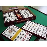 本場中国サイズ『本格高級麻雀牌』マージャンパイ【富士】ケース付き