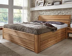 stilbetten bett holzbetten massivholzbett tarija mit stauraum. Black Bedroom Furniture Sets. Home Design Ideas
