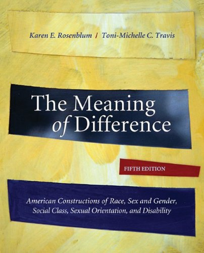 The Meaning of Difference: American Constructions of...