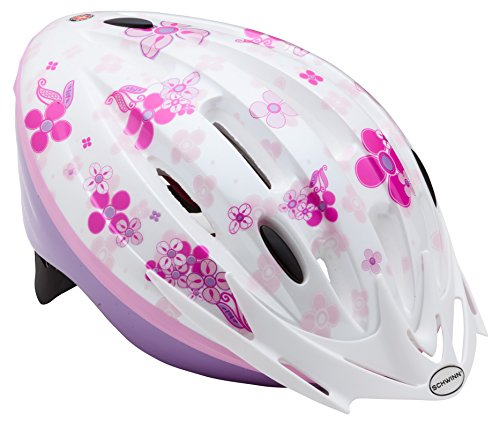 Schwinn Girl's Granite Dee Lite Youth Microshell Helmet
