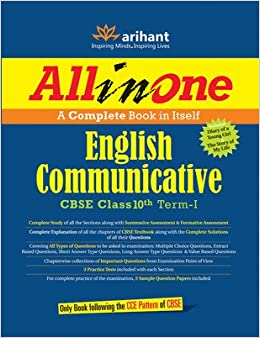 All in One English Communicative CBSE Class 10th Term - I : A Complete Book in Itself 1st Edition price comparison at Flipkart, Amazon, Crossword, Uread, Bookadda, Landmark, Homeshop18