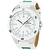 Picture Of Lacoste Men's 2010563 Toronto White Resin Bezel and Dial Watch