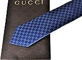 GUCCI 【グッチ】 ネクタイ GG柄 ブルー 152950 4B002 4300