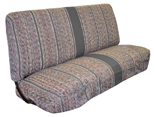 Full Size Truck Bench Seat Covers - Fits Chevrolet, Dodge, and Ford Trucks (Gray) (1987 Chevy Bench Seats compare prices)