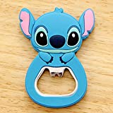 1 Pcs Cute Cartoon Silicone Multi-function Bottle Opener Stainless Steel Wine Beer Opener With Fridge Magnet Kitchen...
