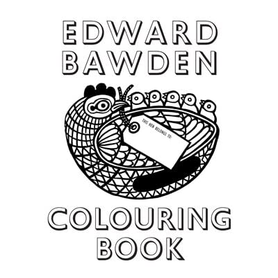 Edward Bawden Colouring Book (Paperback)||EVAEX||AFTEC