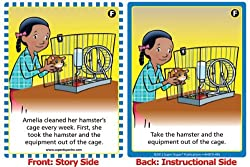 HearBuilder Sequencing Card Deck - Super Duper Educational Learning Toy for Kids