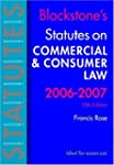 Blackstone's Statutes on Commercial a...