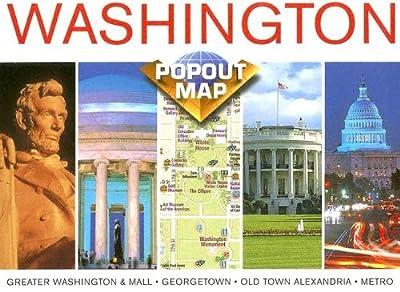 Washington, D. C. popout (USA PopOut Maps)