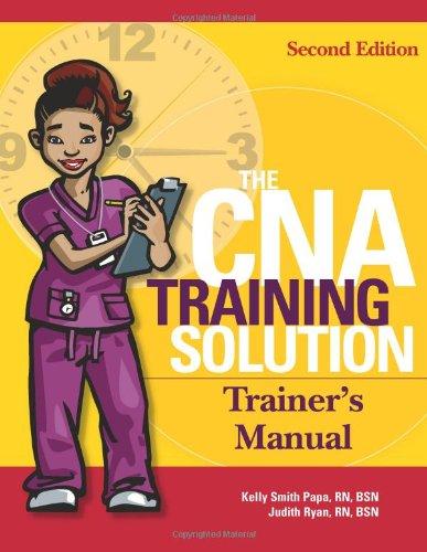 CNA Trainer's Manual