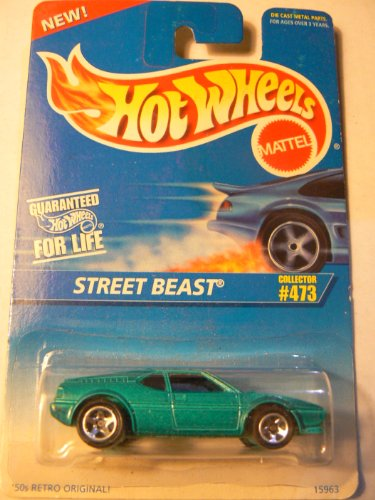 Hot Wheels Street Beast #473 Green 1996 - 1
