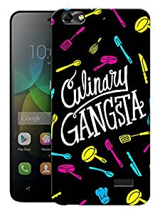 "Humor Gang Culinary Gangsta Printed Designer Mobile Back Cover For ""Huawei Honor 4C"" (3D, Matte, Premium Quality Snap On Case)"