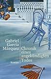 'Chronik eines angekündigten Todes' von Gabriel García Márquez