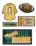 Karen Foster In the Zone Design Scrapbooking Stacked Sticker, 12 by 12