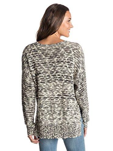 Roxy Junior's Yesterday's Over Sweater, True Black, Medium