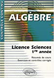 Alg�bre : Licence Sciences 1ere ann�e