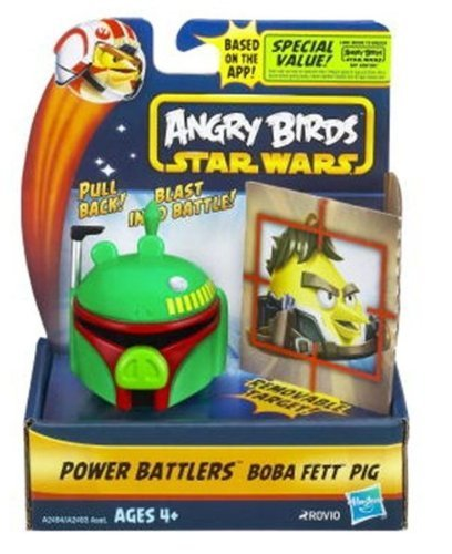 Angry Birds Star Wars Power Battlers Boba Fett Pig Battler
