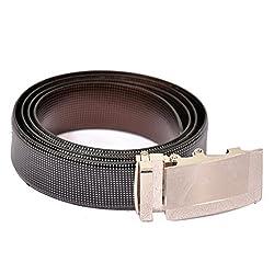 The Runner Italian Leather Designer Reversible Belt