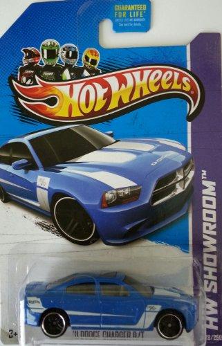 Hot Wheels HW Showroom - 2013 '11 Dodge Charger R/T (Blue) 228/250