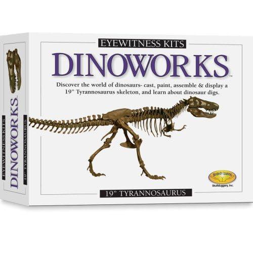 Dinoworks Tyrannosaurus Rex Skeleton Casting Kit