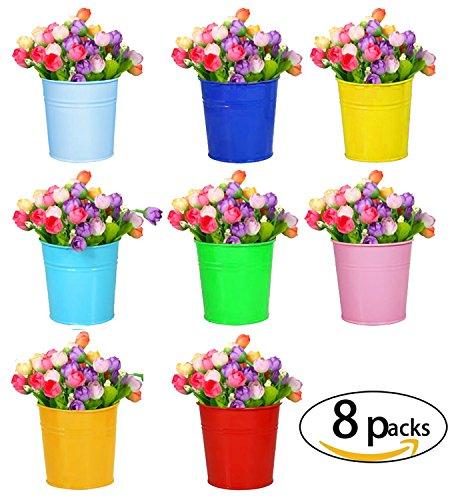 vasi-di-fiori-riogoo-ferro-in-vasi-di-fiori-terrazza-giardino-pentole-muro-piantatori-metal-secchio-