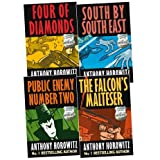 Anthony Horowitz Diamond Brothers Pack, 4 books, RRP £23.96 (Public Enemy Number Two; South By South East; The Falcon's Malteser; The Four Diamonds).