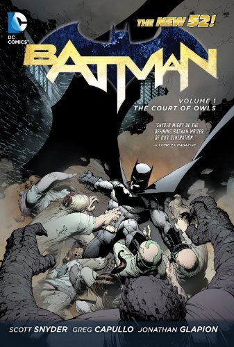 Batman HC Vol 01 The Court Of Owls (Batman (DC Comics)) by Scott Snyder (2012-05-11)