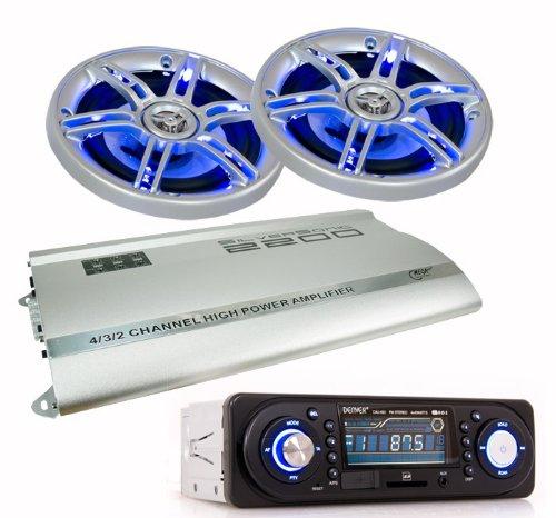 2200W Auto Musikanlage Radio USB SD Endstufe
