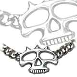 Skull Duster - Alchemy Gothic Pendant Necklace