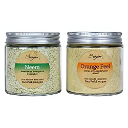 SVAYAM NATURAL NEEM PACK ORANGE SCRUB