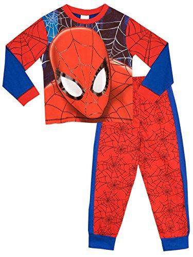 spiderman-pigiama-a-maniche-lunga-per-ragazzi-6-a-7-anni