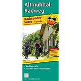 Radwanderkarte Altmühltal-Radweg: Mit Ausflugszielen, Einkehr- & Freizeittipps, wetterfest, reißfest, abwischbar, GPS-genau. 1:50000