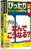 ぴったり ホームページ印刷 Pro