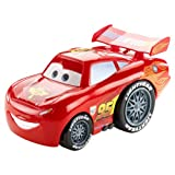 Disney Pixar Cars Kid-Powered Rev-Ups Lightning McQueen Character Race Vehicle