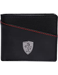 Puma Black Wallet(Cross Design)