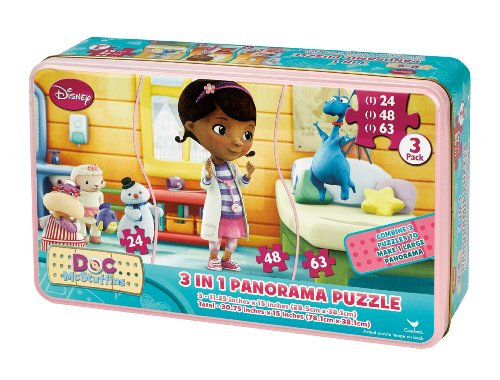 Doc McStuffins 3 in 1 Panorama Puzzle