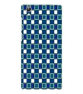 EPICCASE knitted blocks Mobile Back Case Cover For Vivo Y51 (Designer Case)