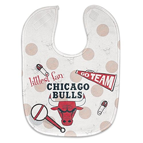 Chicago Bulls Official Nba Infant One Size Baby Bib front-561972