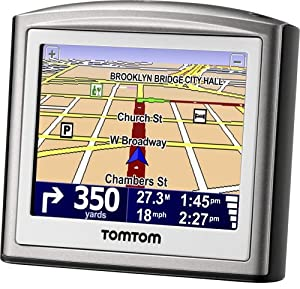 tomtom one 3rd edition 3 5 inch portable gps vehicle navigator discontinued by. Black Bedroom Furniture Sets. Home Design Ideas