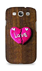 Amez designer printed 3d premium high quality back case cover for Samsung Galaxy S3 Neo (Broken Heart Cookies)