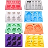 Vibrant Kitchen Ice Cube Trays And Candy Silicone Molds for Star Wars Theme Baking & Gift E-book (Set of 8)